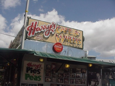 Harry's Hotdogs in Sydney