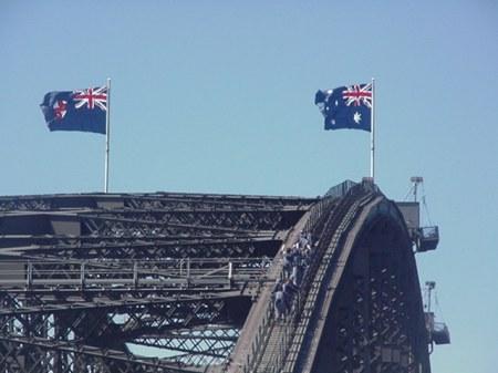 Top of the Sydney Bridge
