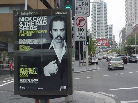 Nick Cave in Sydney